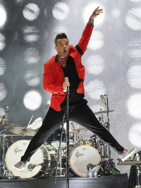 Robbie Williams Summertime Ball 2013 Bellisssisssisiiimooo!!!!!