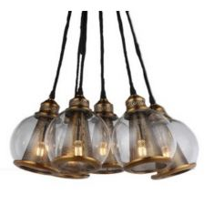Brass & Glass Multi Pendant | Pendants | NEW ARRIVALS