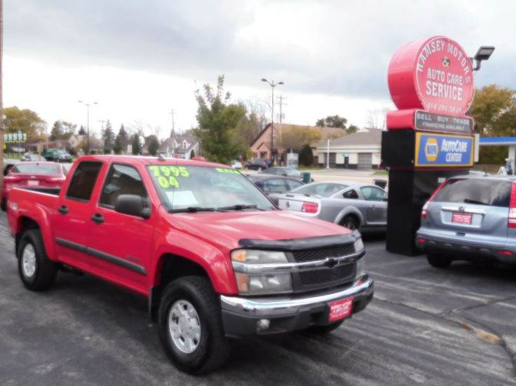 This 2004 Chevrolet Colorado Z71 LS is listed on Carsforsale.com for $7,995 in Milwaukee, WI. This vehicle includes Abs - 4-Wheel, Axle Ratio - 3.73, Center Console, Clock, Cruise Control, Daytime Running Lights, Exterior Entry Lights, Front Air Conditioning, Front Airbags - Dual, Front Bumper Color - Chrome, Front Fog Lights, Front Seat Type - Split-Bench, Front Wipers - Intermittent, Gauge - Tachometer, Headlights - Auto On/Off, In-Dash Cd - Single Disc, Locking Differential - Rear, Mu...