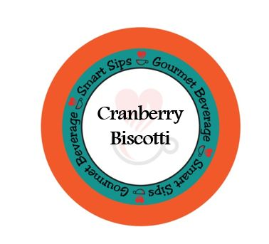 Cranberry Biscotti Gourmet Coffee, 24 Count, Compatible With All Keurig K-cup Brewers