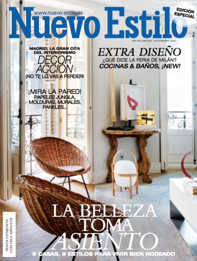 The new collection from Het Tafelbureau is featured in the latest issue @nuevoestilo in Spain. The Scissors in yellow! Let the summer begin!