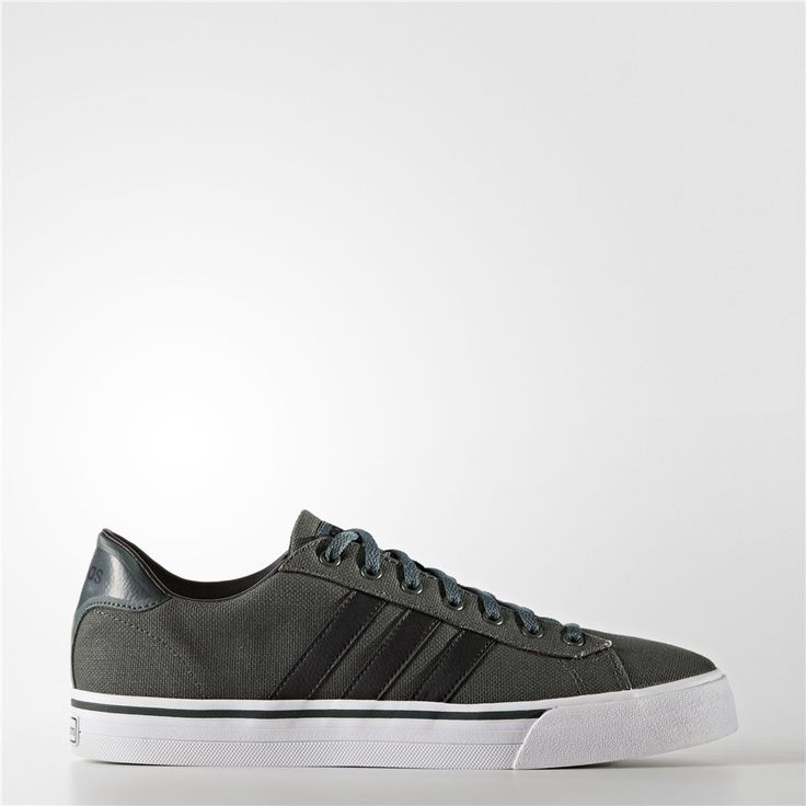 Adidas Cloudfoam Super Daily Shoes (Utility Ivy / Black / Running White)