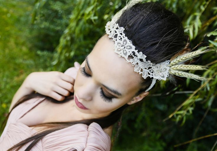 "Pocahontas Bridal headpiece from Madame B's Boutique. For more Alternative Wedding inspiration, check out the No Ordinary Wedding article ""20 Quirky Alternatives to the Traditional Wedding""  http://www.noordinarywedding.com/inspiration/20-quirky-alternatives-traditional-wedding-part-4"