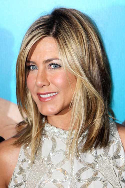 Groovy 25 Best Ideas About Jennifer Aniston Long Bob On Pinterest Hairstyles For Women Draintrainus