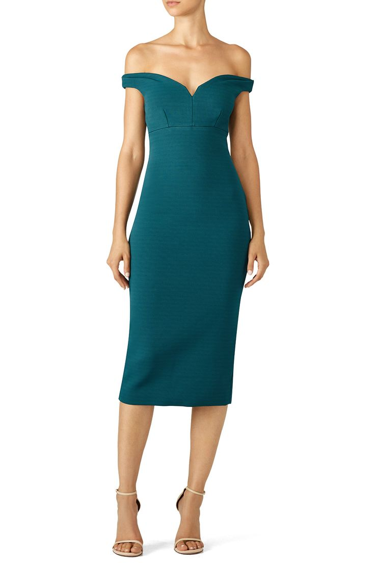 Rent Green Garnet Dress by Cinq à Sept for $70 only at Rent the Runway.
