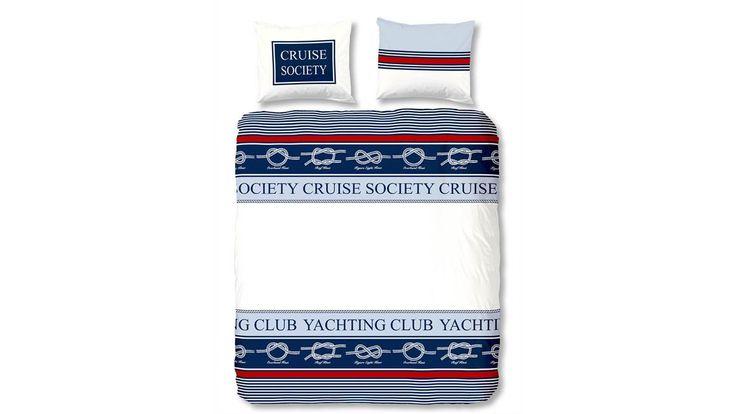 Dekbedovertrek Yachting. 100% fijn geweven katoen, extra zacht, extra soepel en heerlijk comfortabel.