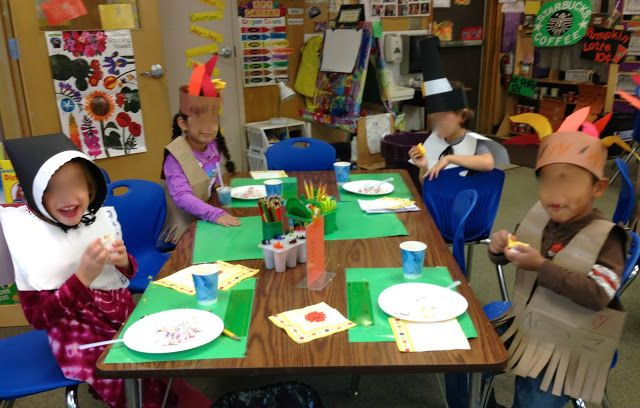 KFUNdamentals: Instructions for a simple Kindergarten Thanksgiving Feast in which the kids help prepare the food.