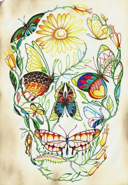 Optische illusies en gezichtsbedrog: Prachtige schedel illusies!