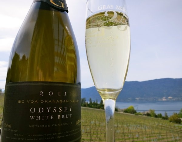 Gray Monk estate winery, Okanagan, British Columbia