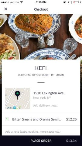 UberEATS: Food Delivery, Fast Screenshots