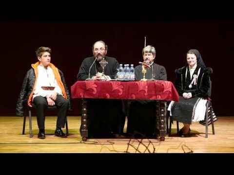 Conferinta sustinuta de Preotul Constantin Necula la Medias | novatv.ro - YouTube