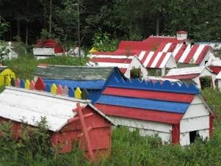 Athabaskan spirit houses