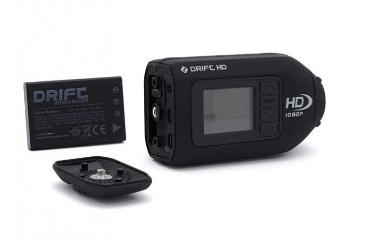 Drift Innovation is releasing a smaller, lighter version of its HD-170 actioncam, called t...
