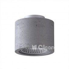 Plafondlamp Monax 15cm Beton