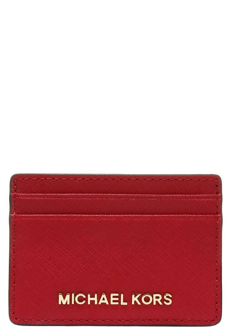 MICHAEL Michael Kors JET SET TRAVEL  Portfel cherry