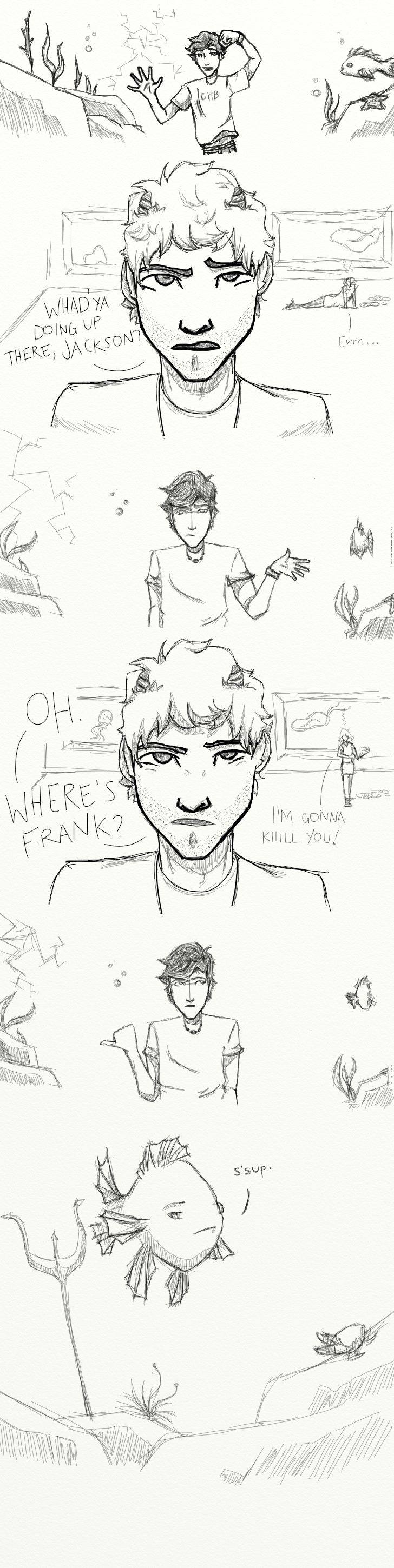 Where's Frank? by ~TheOneWhoLovesToEat on deviantART - THAT IS **EXACTLY** HOW I PICTURED THIS.