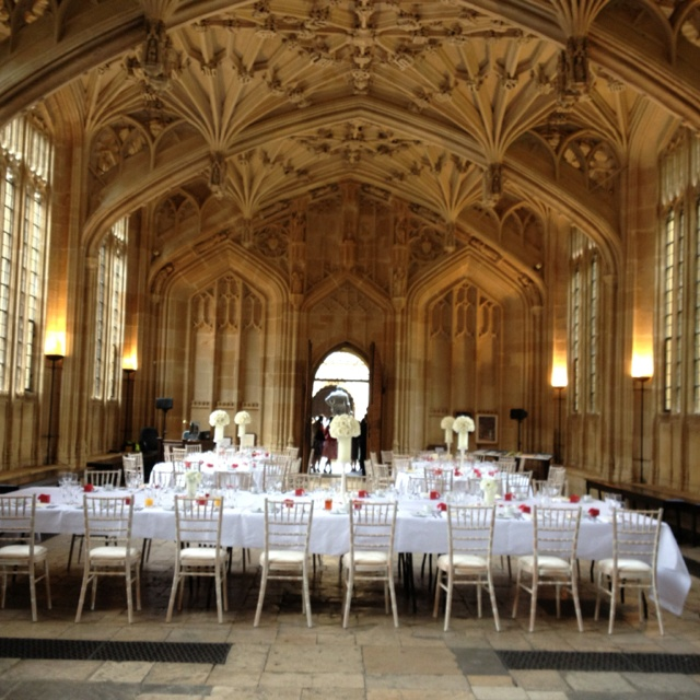 The Bodleian Library, Oxford. Wedding Venue.