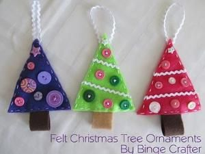 Felt trees for kids' project by alicealice