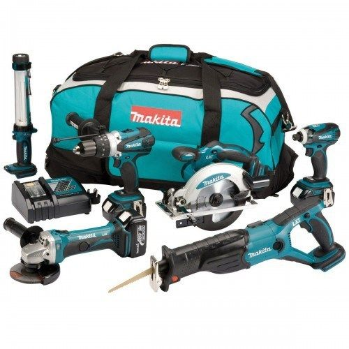 MAKITA DK18027 18V LXT 6 PIECE COMBI KIT (3X3AH), 500x500, power tools, power tools uk, power tool store, cheapest place for power tools