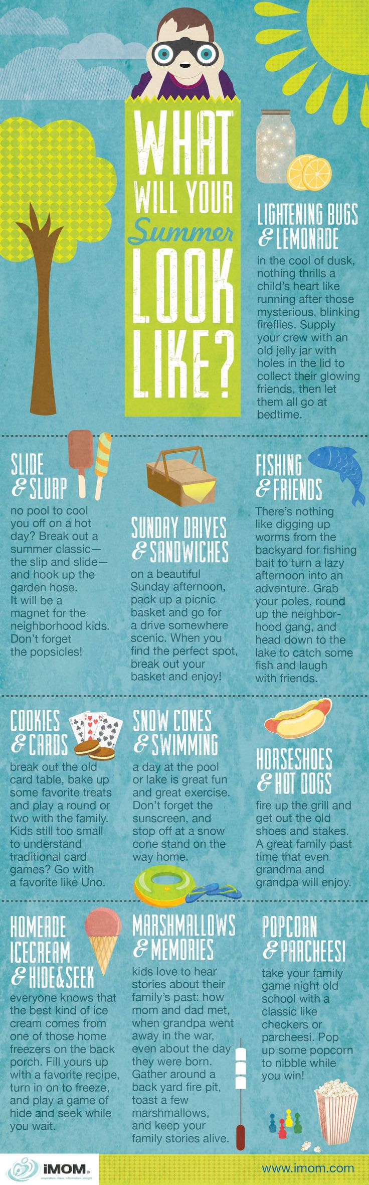 What will your summer look like? #summer #infographic