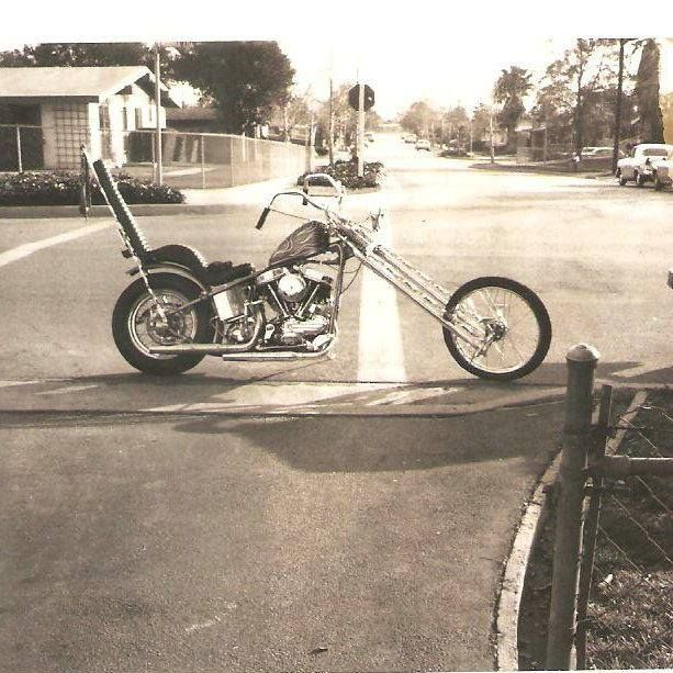 Old school choppers | Real Deal Old School Chopper | Totally Rad Choppers