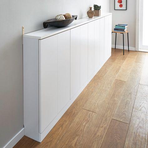 [日本製][完成品]LDKに収納を増やす薄型シンプル収納庫。国内の家具職人が注文を受けてから丁寧に作り上げます。カウンター下収納庫やリビングの壁面収納庫として。薄型で狭い場所でも使える圧迫感の少ない本棚です。