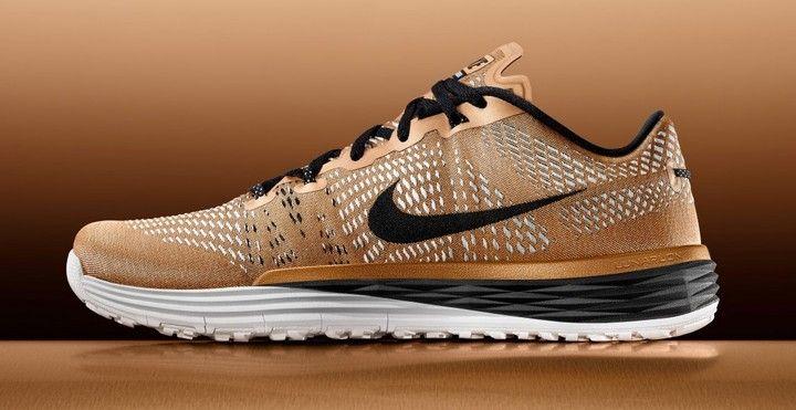 Nike Lunar Caldra. Limited-edition. Gold.