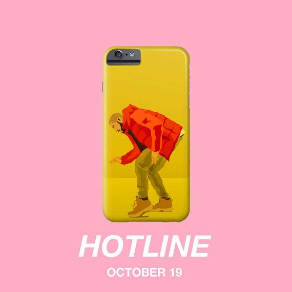 Drake Hotline Bling Video Illustration by TouchofBurlap