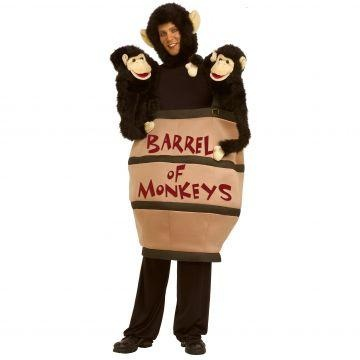 barrel of monkeys costume google search - Halloween Monkey Costumes