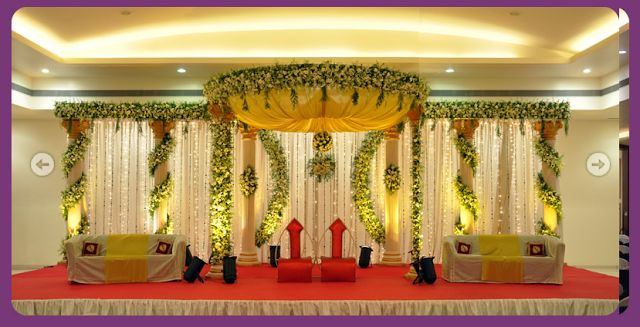 a wedding planner indian wedding and reception stage decorations wedding pinterest. Black Bedroom Furniture Sets. Home Design Ideas