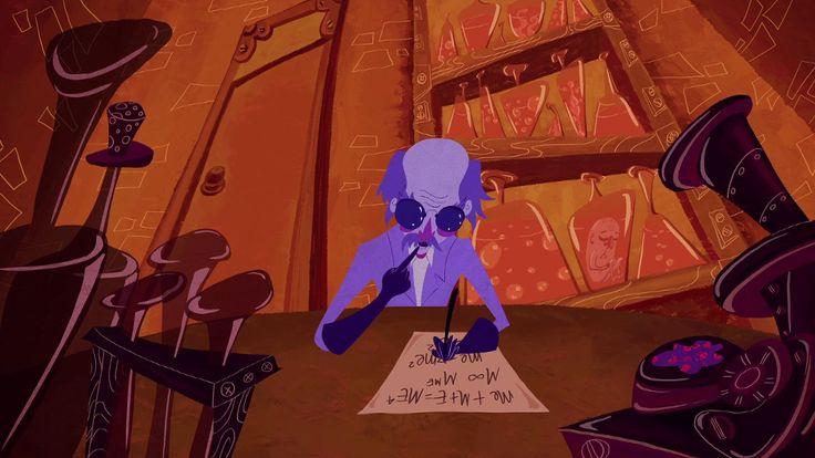 Silvia Prietov 2D animation shortfilm