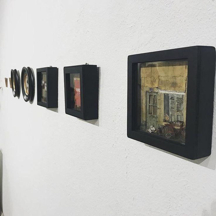 Mini Tale from Nov 19 to Dec 8, 2016! at Flower Pepper Gallery, 121 E Union St, Pasadena, CA 91103 Two pieces still available, go check it out! #grandmondo #mini #dailymini #miniature #handmade #diorama #flowerpeppergallery #art #artist #show #gallery #galleryart #sculpture #pasadena #california #exhibition #urbandecay #urban #streetart #storefront #london #miniatura #comtemporaryart #craft