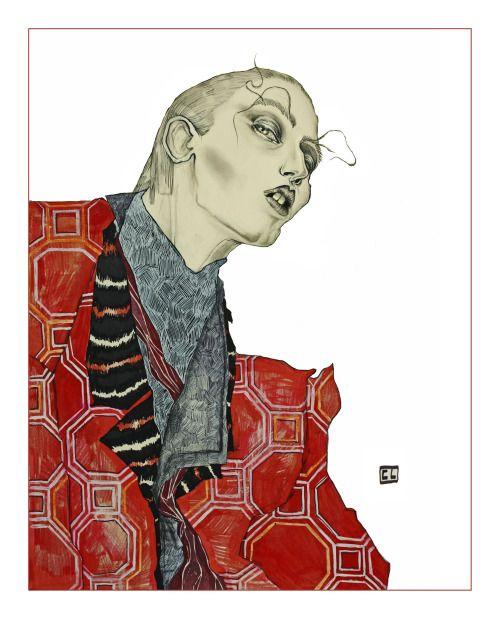 ANNA CLEVELAND by Clément Louis