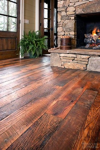 character oak get in my house rustic cabin - Flooring