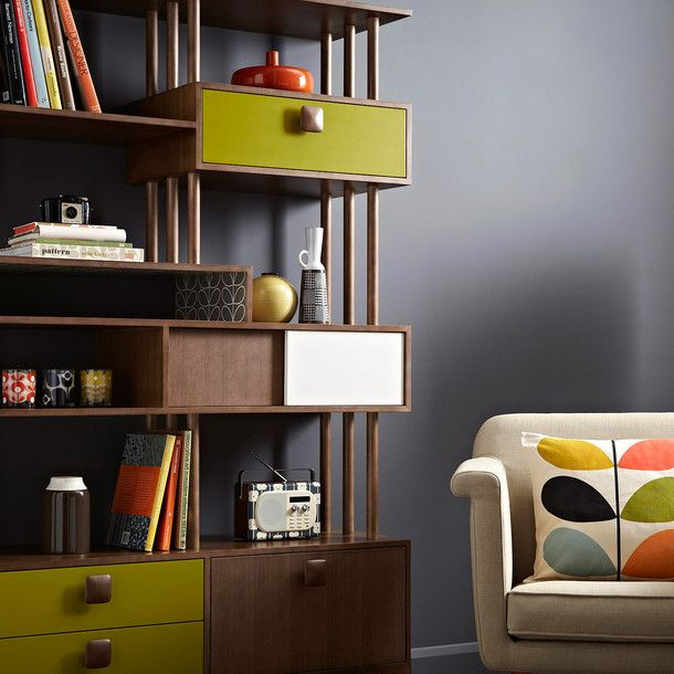 Wall Unit by  Orla Kiely #productdesign #furnituredesign  idea to update my ladderax units