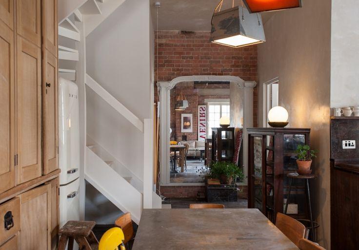 Industrial-chic loft in historic Ragged School