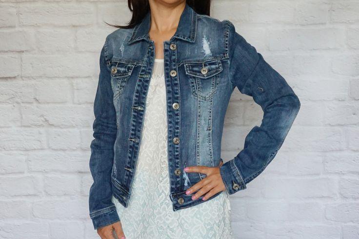 Modna kurtka jeans http://modana.com.pl/
