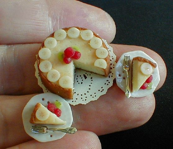 Betsy Nederer is the master of tiny food made from polymer clay. I love her work!