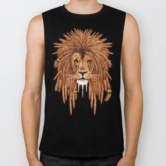 Rasta Lion Dreadlock BIKER TANK @pointsalestore #society6 #bikertank #rider #tee #tshirt #clothing #painting #digital #oil #popart #streetart #rasta #dreadlock #marley  #bob #lion #lionking #simba #kingofthejungle #tarzan #music #raggae #africa #junglebook #beast #animal #cat #bigcat
