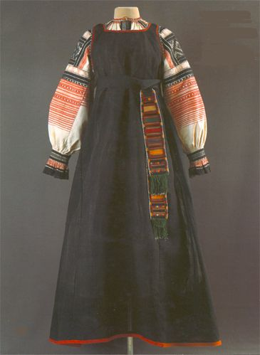 История русской одежды - сарафана