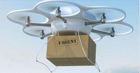Drones to take over delivery services soon