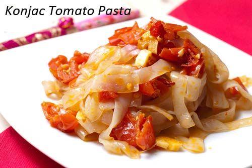 konjac-tomato-pasta