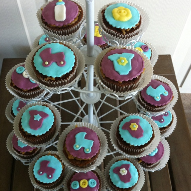 Baby shower cupcakes: Community Baby, Baby Parties, Crazy Cupcakes, Cupcakes Ideas, Baby Shower Cupcakes, Cupcakes Decor, Baby Baby, Baby Boys, Cupcakes Crushes