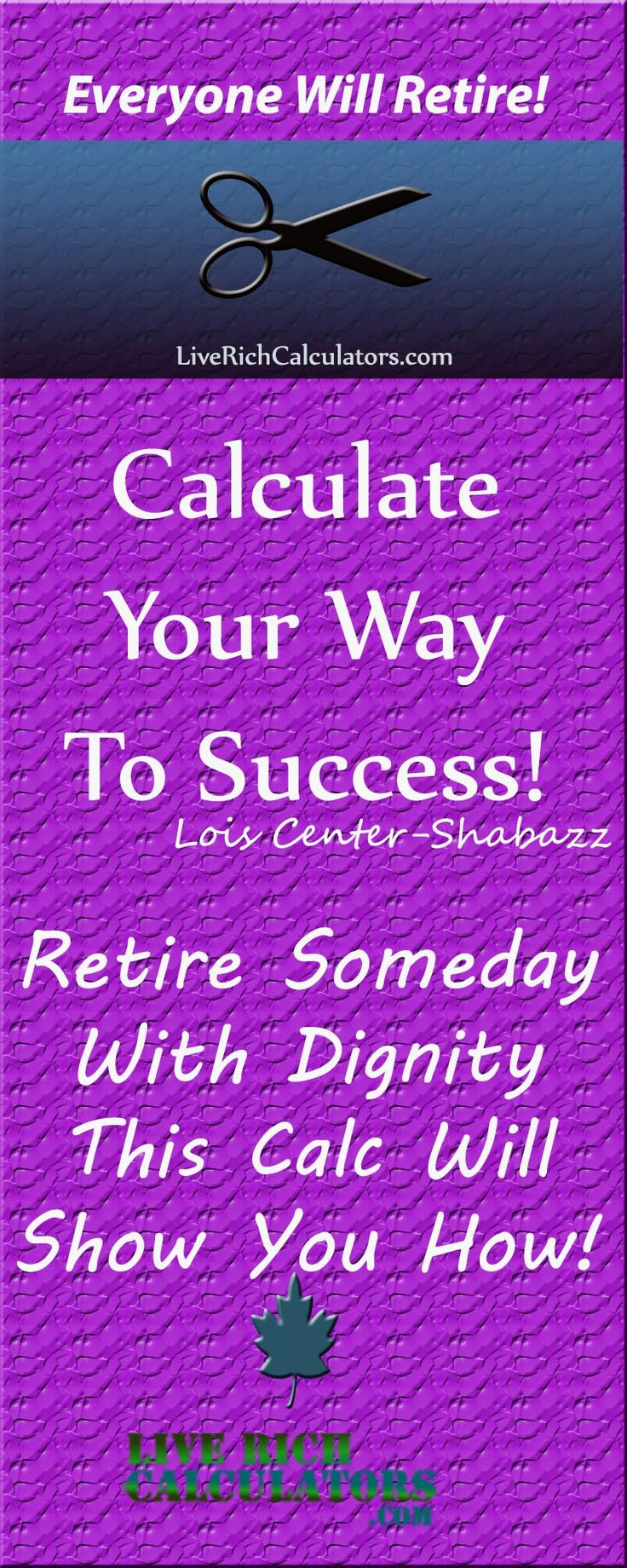 Retirement savings calculator. Use this financial calculator now! http://www.liverichcalculators.com/retirement-savings-calculator.html