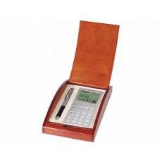 Juego de boligrafo y calculadora