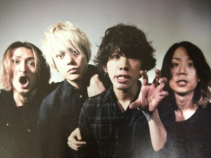 Ok, I'm like IN LOVE with everyone from ONE OK ROCK (Especially Taka <3)