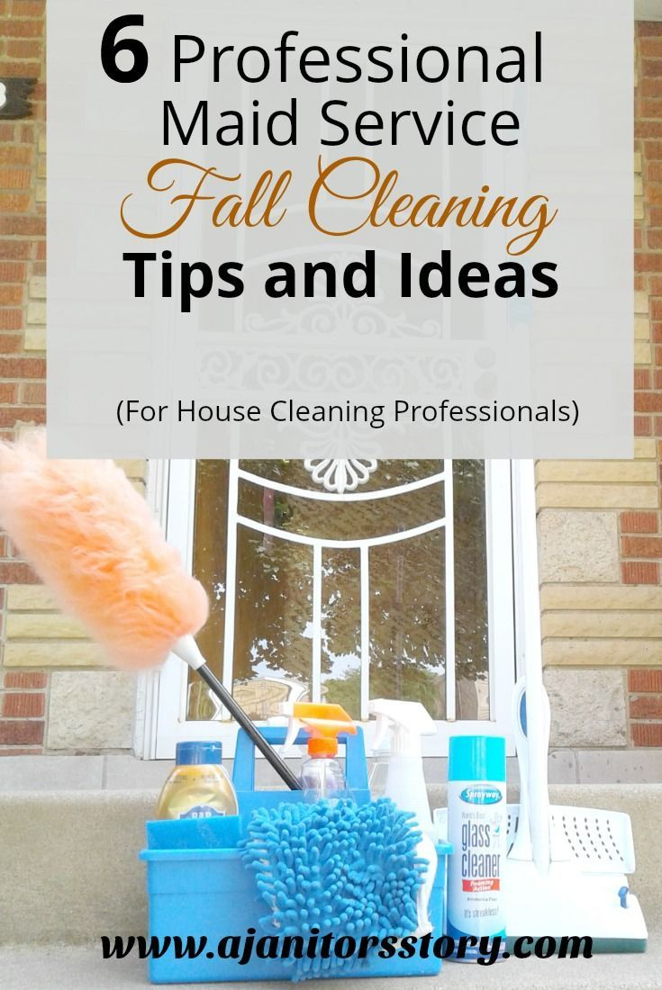 6 Easy Fall Cleaning Tips and Ideas for House Cleaners