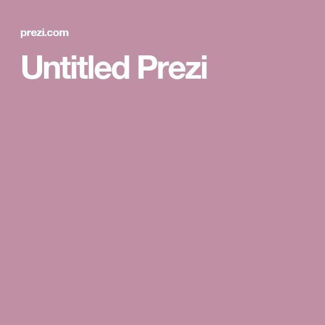Untitled Prezi