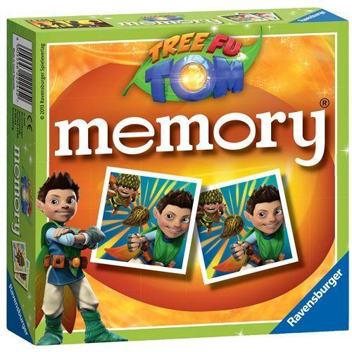 Ravensburger Tree Fu Tom Mini Memory Picture Card Game