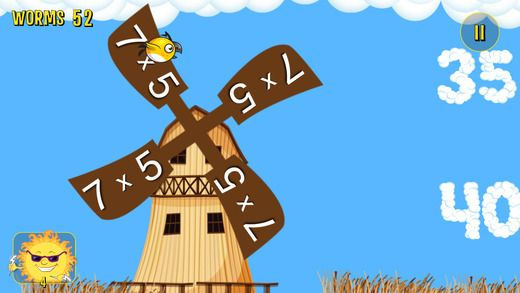 The MULTIFLY - Geek Beak's Mastery of the Times Table app is a great educational app for kids. #apps #math